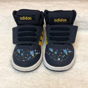 Adidas Boy's Hoops Mid 2.0 Outer Space